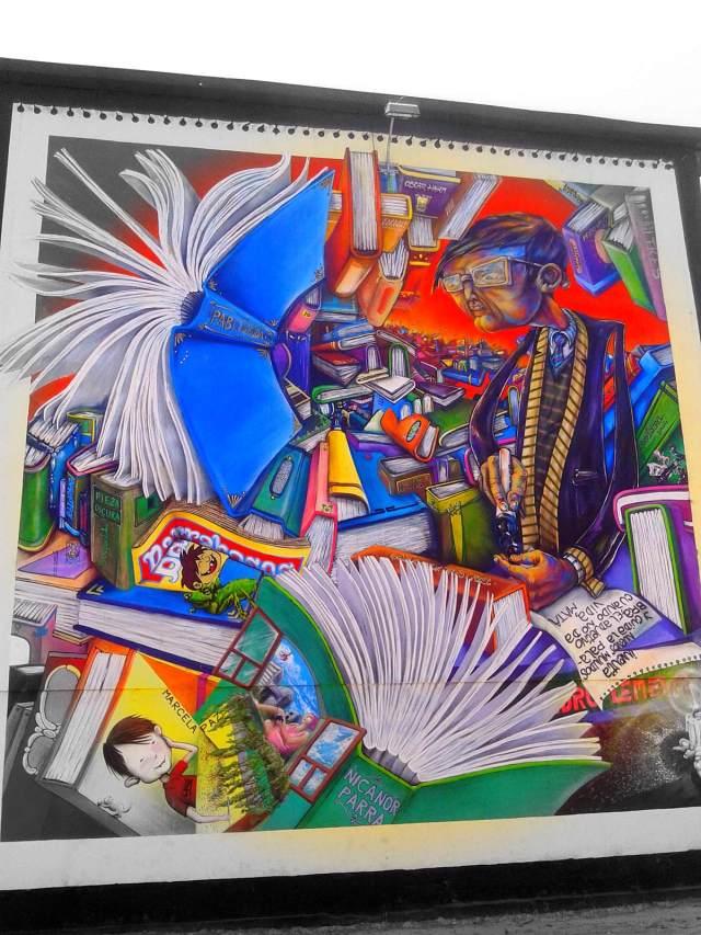 ESCRITORES CHILENOS. Artist LO REKOLECTIVO HA