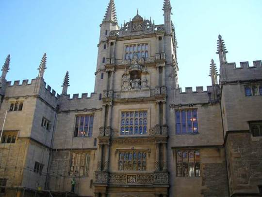 Duke Humfrey's Library, Bodleian Library, Oxford University, Oxford,
