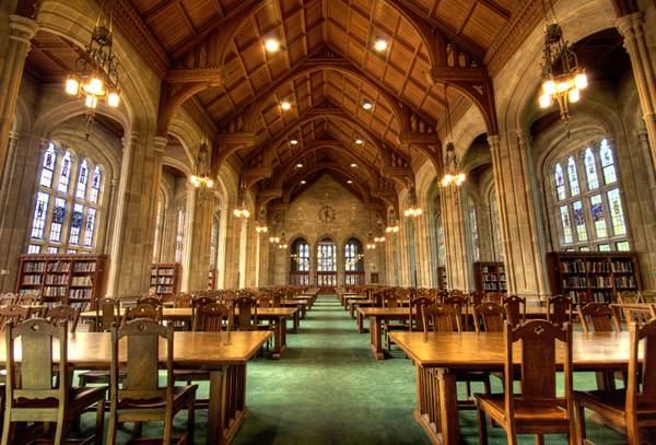 Bapst Library, Boston College, Boston
