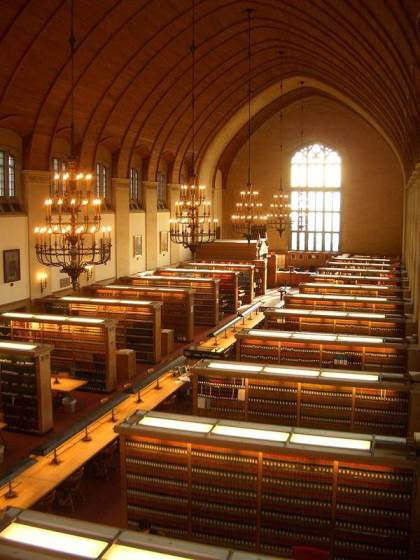 Cornell Law School Library, Ithaca, NY