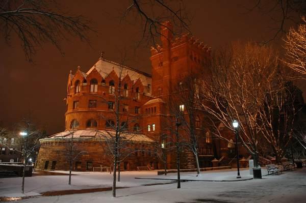 Fisher Fine Arts Library, University of Pennsylvania, Philadelphia