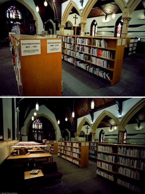 Bibliothèque Saint-Jean-Baptiste, Longueuil, Québec